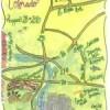 {Weddings} Wedding Blog Creates Custom Wedding Maps
