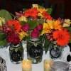 {DIY Daily} Mason Jar Chalkboard Vases