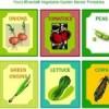 {Free Printables} Vegetable Garden Markers