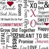 {Printables} Free Wedding Subway Art Printables