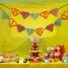 {Real Parties} Kid's Superhero Pop Art Birthday Party