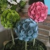 {Nesting} DIY Daily - Craft/Scrap Paper Topiary