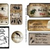 {Printables} Free Creeptacular Halloween Labels
