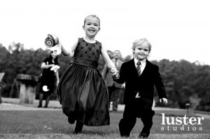 Children at Wedding courtesty of LusterStudios.com