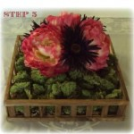 Crafty_Chic-Flower_Moss_Box,_Center_Piece-Step_3