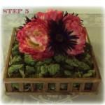 Crafty_Chic-Flower_Moss_Box,_Center_Piece-Step_3