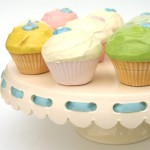 Cake Plate with Ribbon