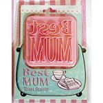 Best Mum Toast Stamp