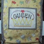 DIY Chaircover - Make for a Queen (or a King)