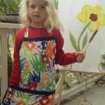 Children's Art Activity Craft Apron