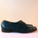 Emerald Green Ferragamo Oxfords