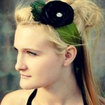 Green Sash Headband