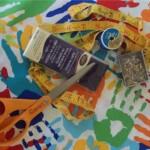 Kids Craft Apron Supplies