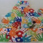 Kid's Art Craft Activity Apron without Bias Tape