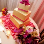 Wedding Cake Pink and White by Cake