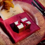 Wedding Favor; Pink Napkin; Wedding Menu; design by YourLifEvents