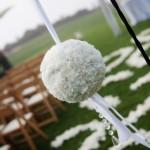 White Flower Pomander for Wedding