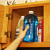 storage of chemicals and cleaning products