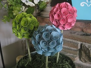 Nesting Diy Daily Craftscrap Paper Topiary Your Lifevents